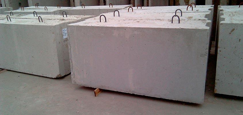 Фундаментные бетонные блоки Краснодар, блоки ФБС